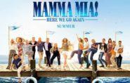 Mamma Mia! Here We Go Again [PG] 1hr 54min